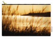Rhos Point Viewed Through Beach Grass Carry-all Pouch
