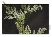 Rhubarb Blossoms Carry-all Pouch