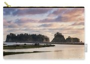 Rialto Beach Sunset On The Pacific Coast In Washington Carry-all Pouch