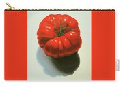 Ribbed Heirloom Tomato Carry-all Pouch