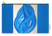 Ribbons Of Love-blue Carry-all Pouch