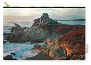 Ribera Beach Sunset Carmel California Carry-all Pouch
