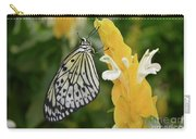Rice Paper Butterfly Carry-all Pouch