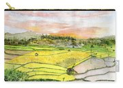Ricefield Terrace Carry-all Pouch