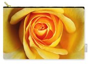 Rich And Dreamy Yellow Rose   Carry-all Pouch