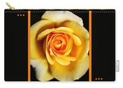 Rich And Dreamy Yellow Rose  With Design Carry-all Pouch