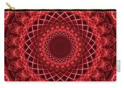 Rich Red Mandala Carry-all Pouch