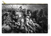 Richard I The Lionheart In Battle At Arsuf In 1191 1877 Carry-all Pouch