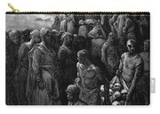 Richard I The Lionheart Massacres Captives In Reprisal 1877 Carry-all Pouch