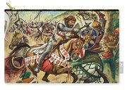 Richard The Lionheart During The Crusades Carry-all Pouch by Peter Jackson