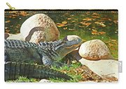 Richly Hued Colorado Gator On The Rocks 2 10282017 Carry-all Pouch