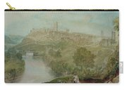Richmond In Yorkshire Carry-all Pouch by Joseph Mallord William Turner
