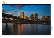 Richmond Skyline At Night Carry-all Pouch