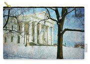 Richmond Virginia Capitol In Snow Carry-all Pouch