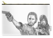 Rick And Daryl Carry-all Pouch
