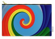 Ride The Wave - Colorful Digital Design Carry-all Pouch