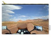 Ride To Little Wild Horse Slot Canyon Carry-all Pouch