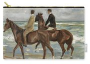 Riders On The Beach Carry-all Pouch