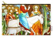 Rides Into Jerusalem Carry-all Pouch