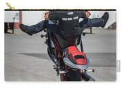 Riding A Wheelie Carry-all Pouch