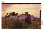 Riding Off Into The Sunset Carry-all Pouch