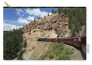 Riding The Cumbres And Toltec Carry-all Pouch