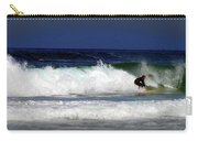 Riding The Waves At Asilomar State Beach Four Carry-all Pouch