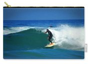 Riding The Waves At Asilomar State Beach Three Carry-all Pouch