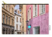 Riga Narrow Road Digital Painting Carry-all Pouch