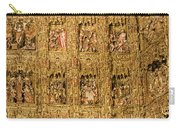 Right Half - The Golden Retablo Mayor - Cathedral Of Seville - Seville Spain Carry-all Pouch