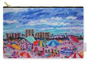 Right Panel Of Triptych Busy Relaxing Carry-all Pouch
