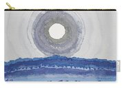 Rim Of The Moon Original Painting Carry-all Pouch