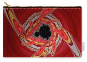 Ring Of Feathers - Abstract Carry-all Pouch