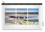 Cape May Beach Scene Series Carry-all Pouch