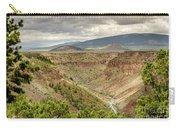 Rio Grande Gorge At Wild Rivers Recreation Area Carry-all Pouch