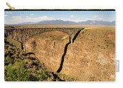 Rio Grande Gorge Bridge Taos New Mexico Carry-all Pouch