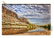 Rio Grande River Oil Painting Carry-all Pouch