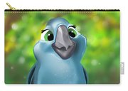 Rio Parrot Illustration Carry-all Pouch