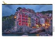 Riomaggiore In Cinque Terre Italy Painterly Carry-all Pouch