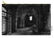Rioseco Abandoned Abbey Naves Bw Carry-all Pouch