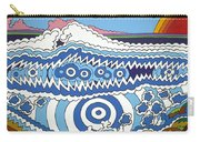 Rip Tide Carry-all Pouch by Rojax Art