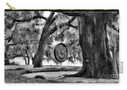 Rip Van Winkle Gardens Louisiana Bw Carry-all Pouch
