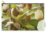 Ripe Kiwi Fruit On The Branch Carry-all Pouch