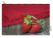 Ripe Strawberries Carry-all Pouch