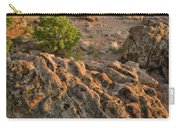 Ripple Boulders At Sunset In Bentonite Quarry Carry-all Pouch