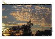 Ripple Clouds At Sunset Carry-all Pouch