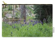 Ripples Behind Wildflowers Carry-all Pouch