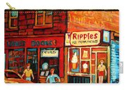 Ripples Ice Cream Factory Carry-all Pouch