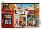 Ripples Icecream  Carry-all Pouch
