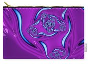 Ripples In A Purple Pond Carry-all Pouch